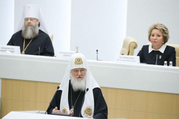 Патриарх Кирилл: В России надо сократить количество абортов